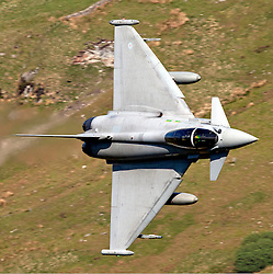 "© London News Pictures FILE PICTURE. The Typhoon F2. 18/03/11. UK, French and US warplanes are set to go into action over Libya after the UN backed ""all necessary measures"", short of an invasion, to protect civilians. Photo credit should read Ian Schofield/London News Pictures"
