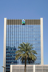Standard Chartered Bank at Emaar Square in business and financial hub at Downtown Dubai United Arab Emirates