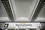 Hamburg | 30 Apr 2015<br /> <br /> Sternschanze metro (subway) station in the german city of Hamburg.<br /> <br /> &copy;peter-juelich.com<br /> <br /> [No Model Release | No Property Release]