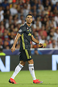 Cristiano Ronaldo of Juventus FC looks on during the UEFA Champions League, Group H football match between Valencia CF and Juventus FC on September 19, 2018 at Mestalla stadium in Valencia, Spain - Photo Manuel Blondeau / AOP Press / ProSportsImages / DPPI