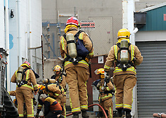 Auckland-Fire crews respond to building fire in Honan Street, Avondale