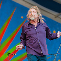 Robert Plant, New Orleans Jazz & Heritage Festival 2014
