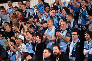 SYDNEY, AUSTRALIA - APRIL 10: Sydney fans at The AFC Champions League football game between Sydney FC and Shanghai SIPG FC on April 10, 2019, at Netstrata Jubilee Stadium in Sydney, Australia. (Photo by Speed Media/Icon Sportswire)