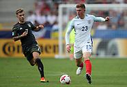 England U21 v Germany U21, 27 June 2017