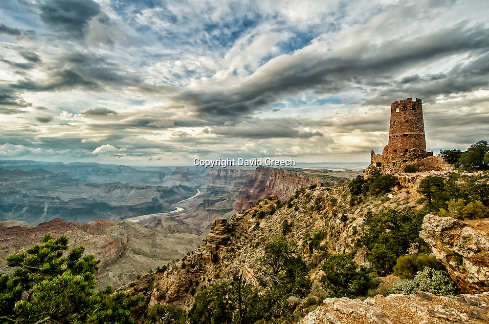 The Wathctower at Desert View in Grand Canyon National Park