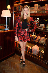 NOELLE RENO at the launch of Rosewood London - a new luxury hotel at 252 High Holborn, London WC1 on 30th October 2013.