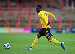 WREXHAM, WALES - Friday, September 6, 2019: Belgium's Jéremy Doku during the UEFA Under-21 Championship Italy 2019 Qualifying Group 9 match between Wales and Belgium at the Racecourse Ground. (Pic by Laura Malkin/Propaganda)