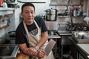 Chef Chris Cheung of Brooklyn's East Wind Snack Shop