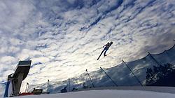 02.01.2016, Bergisel Schanze, Innsbruck, AUT, FIS Weltcup Ski Sprung, Vierschanzentournee, Qualifikation, im Bild Vincent Descombes Sevoie (FRA) // Vincent Descombes Sevoie of France during his Qualification Jump for the Four Hills Tournament of FIS Ski Jumping World Cup at the Bergisel Schanze, Innsbruck, Austria on 2016/01/02. EXPA Pictures © 2016, PhotoCredit: EXPA/ JFK