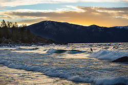 Logan Knutzen Surfing Tahoe