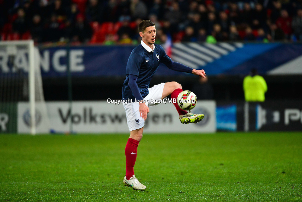 Clement LENGLET - 25.03.2015 - Football Espoirs - France / Estonie - Match Amical -Valenciennes<br /> Photo : Dave Winter / Icon Sport