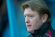 Scunthorpe United manager Stuart McCall during the EFL Sky Bet League 1 match between Scunthorpe United and Luton Town at Glanford Park, Scunthorpe, England on 26 December 2018.