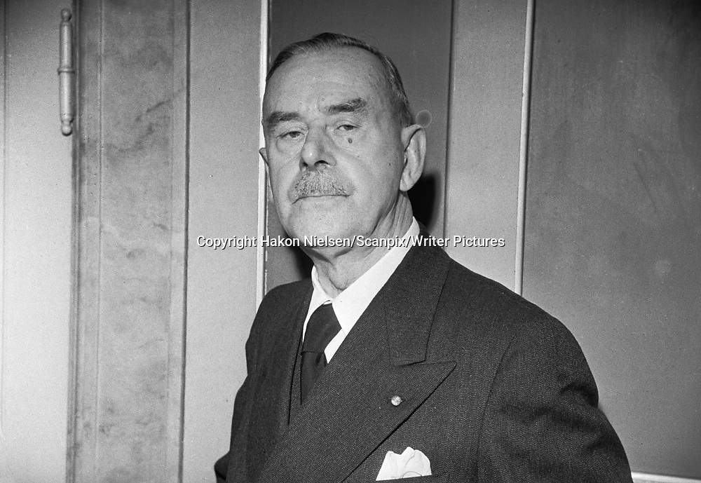 Thomas Mann <br /> Picture by Hakon Nielsen/Scanpix/Writer Pictures<br /> <br /> WORLD RIGHTS - DIRECT SALES ONLY - NO AGENCY