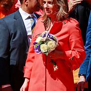 NLD/Weert/20110430 - Koninginnedag 2011 in Weert, Annet Sekreve