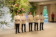The Cartier Chelsea Flower show dinner. Hurlingham club, London. 20 May 2013.