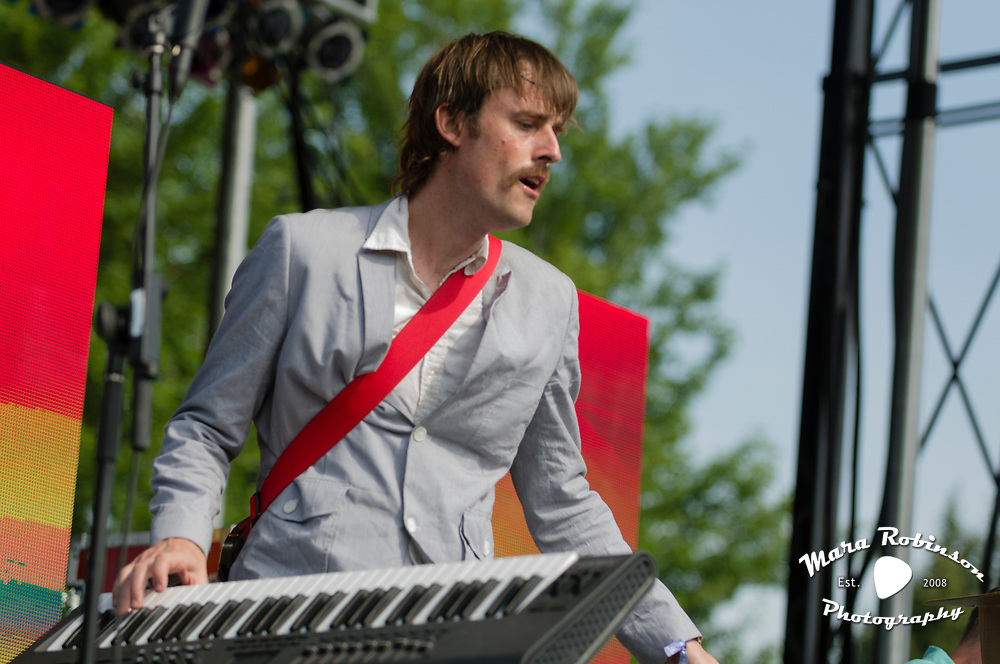 Batles at Pitchfork Music Festival 2011