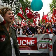Fête du travail- 1er Mai - Défilé des luttes internationales