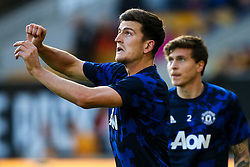Harry Maguire of Manchester United and Victor Lindelof of Manchester United - Mandatory by-line: Robbie Stephenson/JMP - 19/08/2019 - FOOTBALL - Molineux - Wolverhampton, England - Wolverhampton Wanderers v Manchester United - Premier League