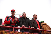 Fans waiting for the start of the Nebraska Huskers Spring Game on April 21, 2018. Photo by Ryan Loco.