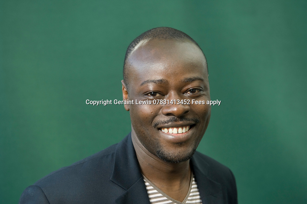 Helon Habila ,Nigerian Born Writer ,winner of the Caine Prize for African Writing.CREDIT Geraint Lewis
