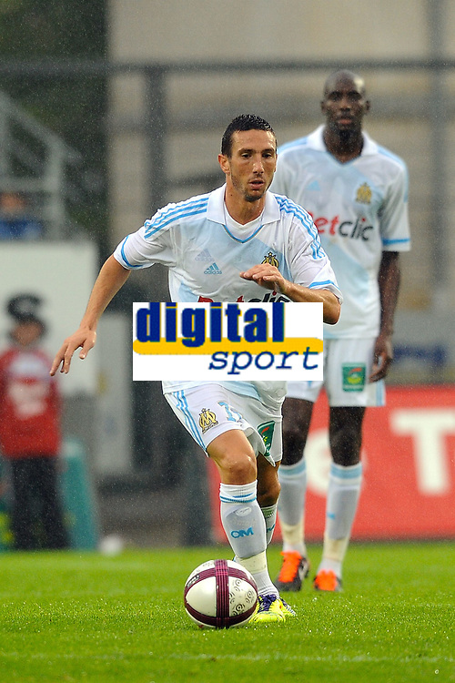 FOOTBALL - FRIENDLY GAMES 2011/2012 - VANNES OC v OLYMPIQUE MARSEILLE  - 8/07/2011 - PHOTO PASCAL ALLEE / DPPI - MORGAN AMALFITANO (OM)