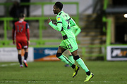 Forest Green Rovers Shawn McCoulsky(21) during the EFL Sky Bet League 2 match between Forest Green Rovers and Grimsby Town FC at the New Lawn, Forest Green, United Kingdom on 22 January 2019.