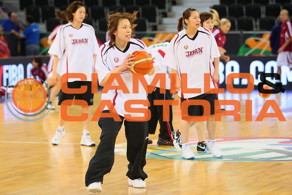 DESCRIZIONE : Madrid 2008 Fiba Olympic Qualifying Tournament For Women Latvia Japan <br /> GIOCATORE : Mayumi Funabiki <br /> SQUADRA : Japan Giappone <br /> EVENTO : 2008 Fiba Olympic Qualifying Tournament For Women <br /> GARA : Latvia Japan Lettonia Giappone <br /> DATA : 11/06/2008 <br /> CATEGORIA : Passaggio <br /> SPORT : Pallacanestro <br /> AUTORE : Agenzia Ciamillo-Castoria/S.Silvestri <br /> Galleria : 2008 Fiba Olympic Qualifying Tournament For Women <br /> Fotonotizia : Madrid 2008 Fiba Olympic Qualifying Tournament For Women Latvia Japan <br /> Predefinita :