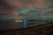 Northern Lights Over Reykjavik, Iceland 2015 by Dublin based photographer Dan Butler