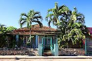 House in Santa Fe, Havana, Cuba.