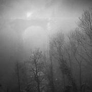 The Duke's Bridge over the Avon water gorge, Chatelherault, Hamilton.