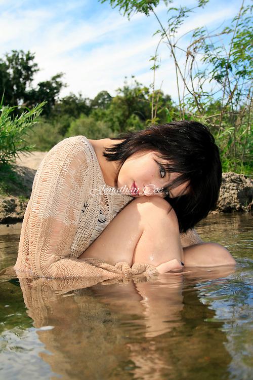 Model: Kristianna Kathleen<br /> Location: San Joaquin River, Fresno, CA