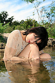 2011 In The River (White Woven Top) - Kristianna Kathleen