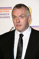 LONDON - DECEMBER 16:  Greg Davies attends the British Comedy Awards at the Fountain Studios, Wembley, London, UK on December 16, 2011. (Photo by Richard Goldschmidt)