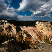 Artist Point, Yellowstone National Park, Wyoming, United States