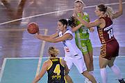 Francesca Dotto<br /> Nazionale Italiana Femminile Senior - Rappresentativa Straniere<br /> LegA Basket Femminile 2016/2017<br /> Lucca, 04/10/2016<br /> Foto Ciamillo-Castoria