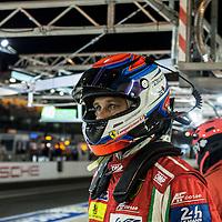 Tony Vilander, #51, Ferrari 458 Italia, AF Corse, Le Mans 24H 2015