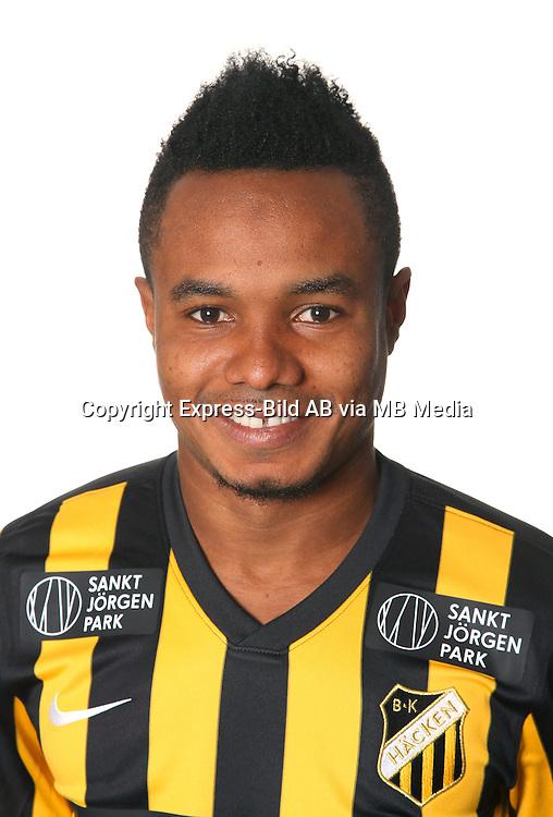 Nasiru Mohammed<br /> Halvfigur<br /> @Leverans<br /> Allsvenskan 2016<br /> Fotboll