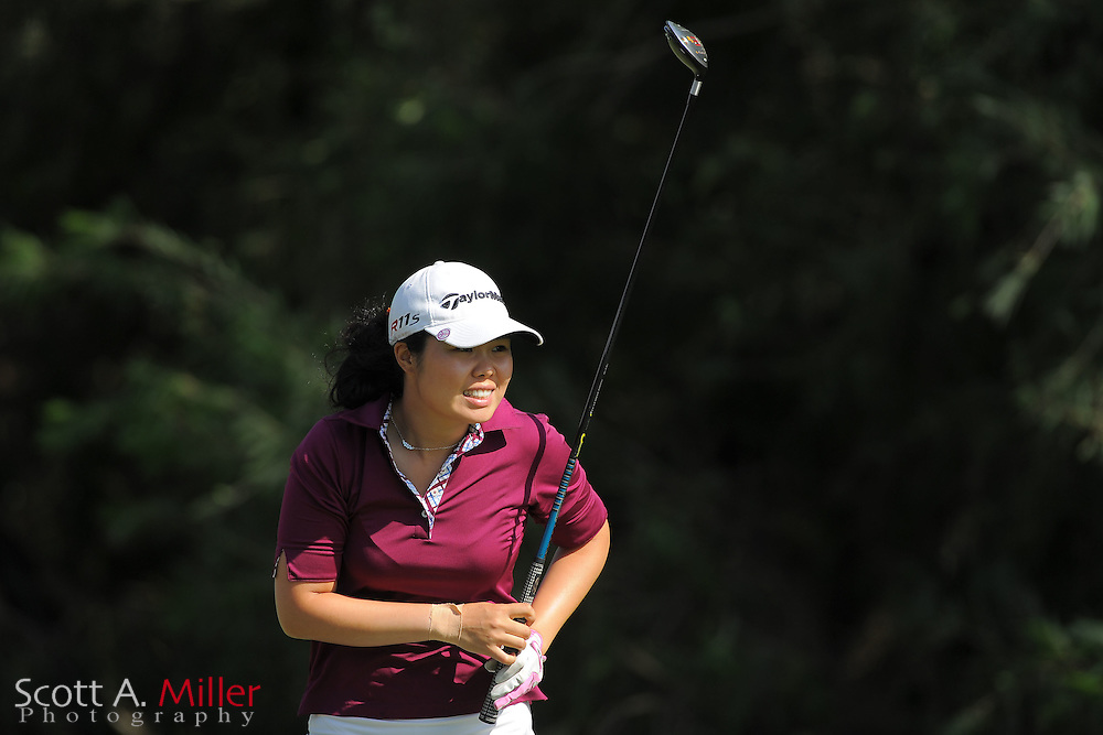 Esther Choe during the Symetra Tour's Sara Bay Classic at the Sara Bay Country Club on April 22, 2012 in Sarasota, Fla. ..©2012 Scott A. Miller.
