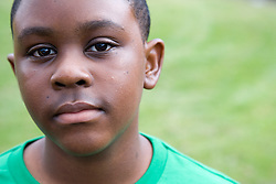Portrait of a teenage boy,