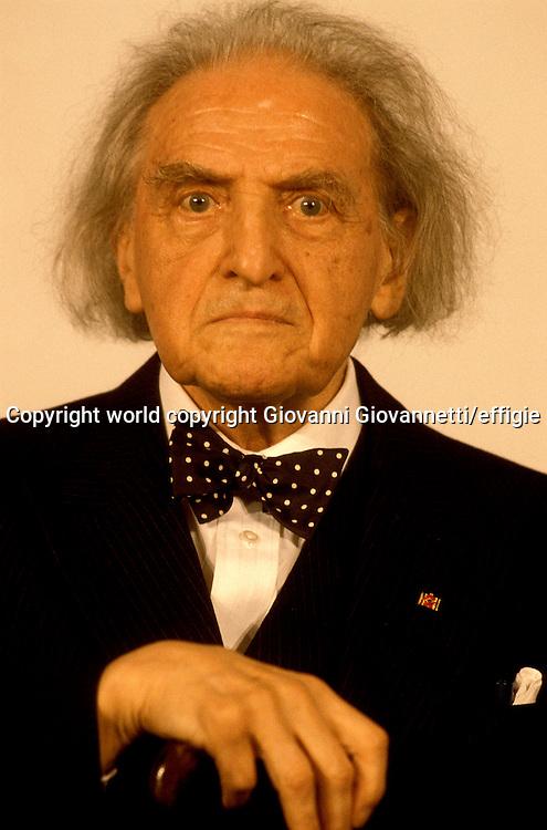 Raymond Klibansky<br />world copyright Giovanni Giovannetti/effigie