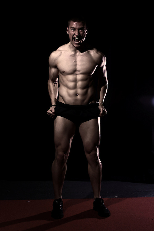 Jack (Jakk) Lowry, sponsored athlete for ON Optimum Nutrition supplements as a Free runner, Cheerleader and fitness model. Lean, ripped and athletic.