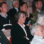 Belegingsseminar Rabobank Huizen in 3 in 1, Margot Dierick luistert