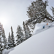 Tanner Flanagan heads deep into the Teton backcountry to find the deepest powder of many seasons past before it all melts. Heading into the trees for the best snow...
