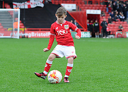 Mascot at Ashton Gate Stadium for the Sky Bet Championship game between Bristol City and Charlton Athletic on 26 December 2015 in Bristol, England - Mandatory by-line: Paul Knight/JMP - Mobile: 07966 386802 - 26/12/2015 -  FOOTBALL - Ashton Gate Stadium - Bristol, England -  Bristol City v Charlton Athletic - Sky Bet Championship