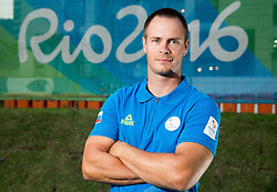 Dejan Fabcic of Slovenia posing in the Paralympic Village on day 5 of the Rio 2016 Summer Paralympics Games on September 12, 2016 in Rio de Janeiro, Brazil. Photo by Vid Ponikvar / Sportida