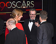 04.03.2018; Hollywood, USA: WINNERS, GARY OLDMAN WITH ALLISON JANNEY AND SAM ROCKWELL<br /> during the 90th Annual Academy Awards held at the Dolby&reg; Theatre in Hollywood.<br /> Mandatory Photo Credit: &copy;Francis Dias/Newspix International<br /> <br /> IMMEDIATE CONFIRMATION OF USAGE REQUIRED:<br /> Newspix International, 31 Chinnery Hill, Bishop's Stortford, ENGLAND CM23 3PS<br /> Tel:+441279 324672  ; Fax: +441279656877<br /> Mobile:  07775681153<br /> e-mail: info@newspixinternational.co.uk<br /> Usage Implies Acceptance of Our Terms &amp; Conditions<br /> Please refer to usage terms. All Fees Payable To Newspix International