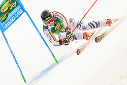March 9, 2019 - Kranjska Gora, Kranjska Gora, Slovenia - Benedikt Staubitzer of Germany in action during Audi FIS Ski World Cup Vitranc on March 8, 2019 in Kranjska Gora, Slovenia. (Credit Image: © Rok Rakun/Pacific Press via ZUMA Wire)
