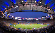 A general view of the stadium during the 2014 FIFA World Cup Group E match at Maracana Stadium, Rio de Janeiro<br /> Picture by Andrew Tobin/Focus Images Ltd +44 7710 761829<br /> 25/06/2014