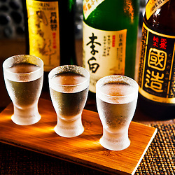 Sake Wine Flight, Taneko Japanese Tavern. Photo by N.Scott Trimble/Arizona Republic