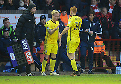 Ryan Broom of Bristol Rovers replaces Rory Gaffney of Bristol Rovers - Mandatory by-line: Alex James/JMP - 21/01/2017 - FOOTBALL - Banks's Stadium - Walsall, England - Walsall v Bristol Rovers - Sky Bet League One